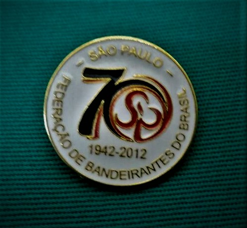 Broche 70 Anos Movimento Bandeirante SP